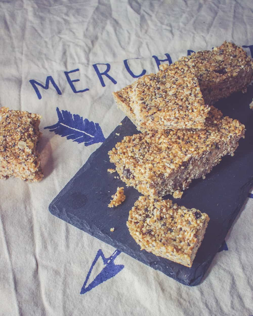 Kaura-kvinoa- välipalapatukat